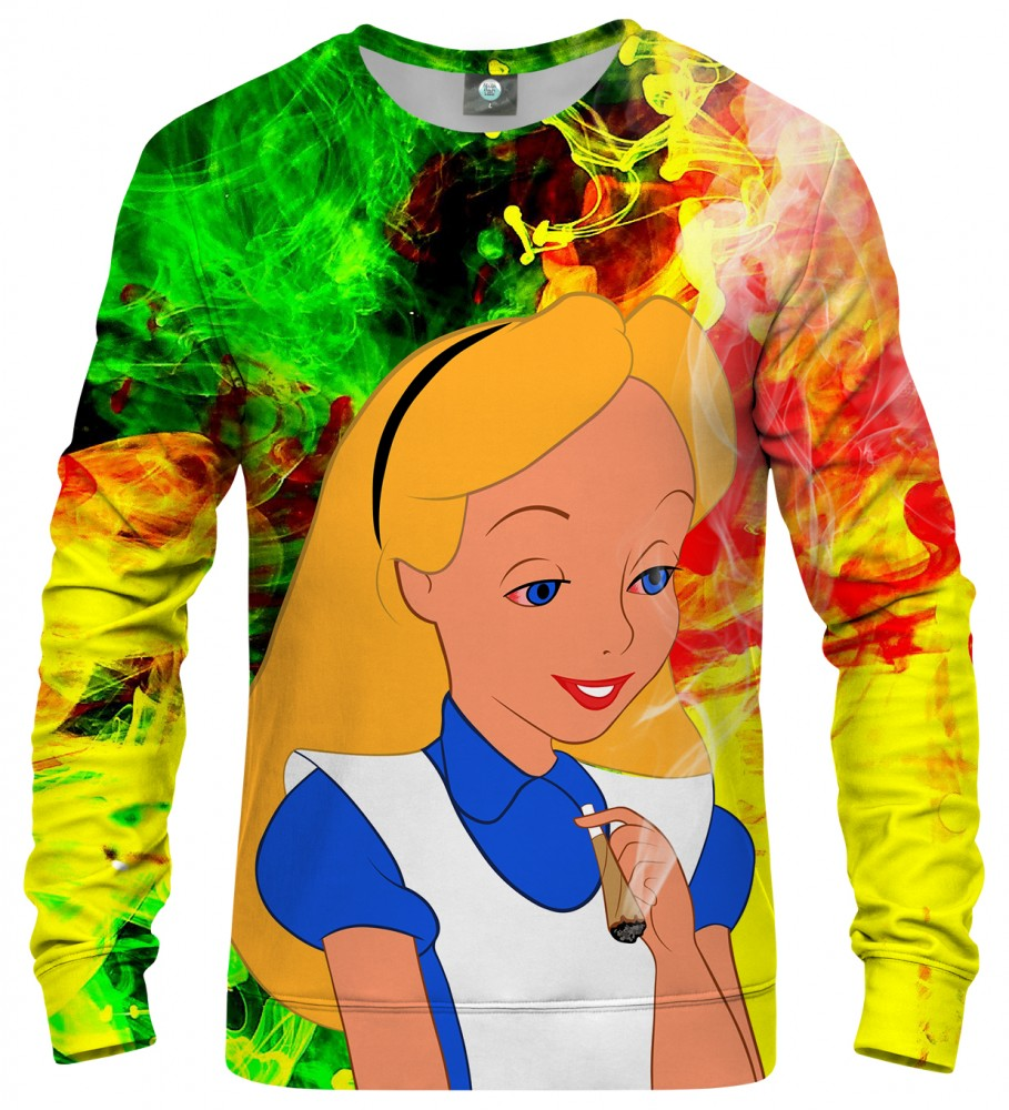 Aloha From Deer, WE ARE ALL HIGH HERE SWEATER Image $i