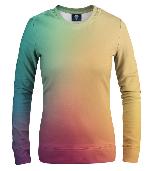 COLORFUL OMBRE WOMEN SWEATSHIRT Thumbnail 1