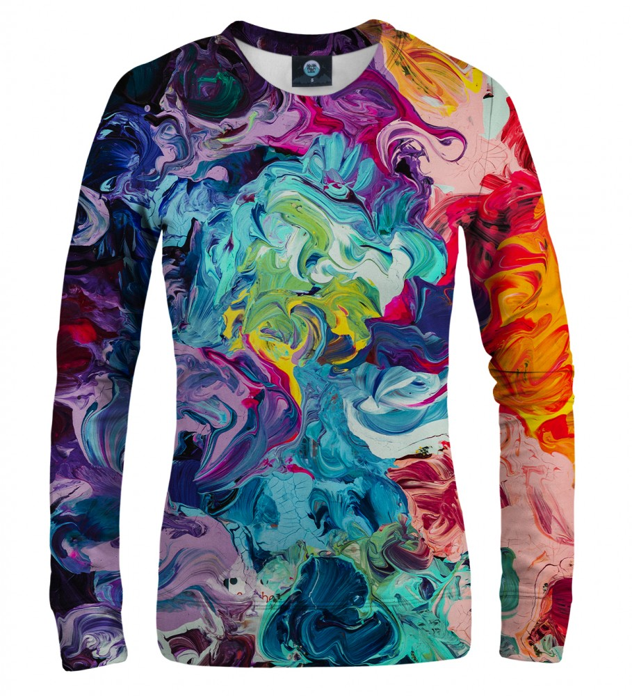 Aloha From Deer, PAINTJOB WOMEN SWEATSHIRT Image $i