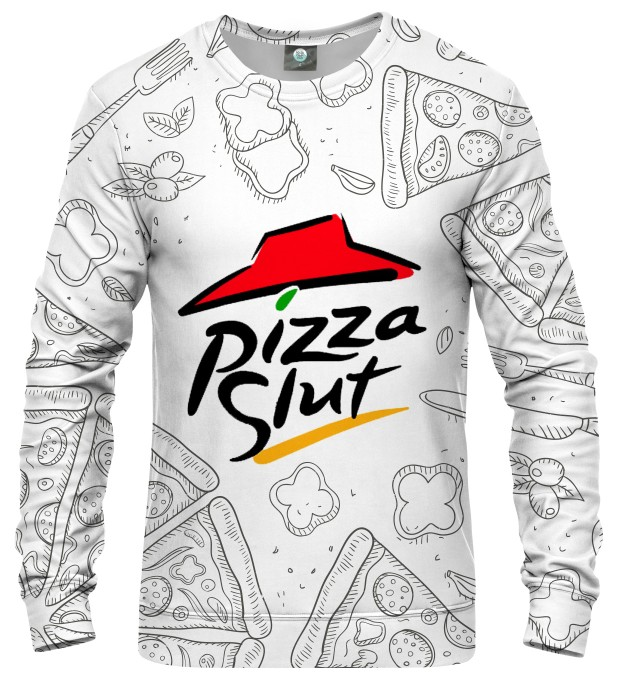 PIZZA ENTHUSIAST SWEATSHIRT Thumbnail 2