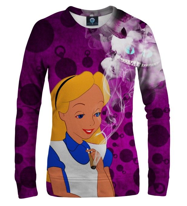 ALICE IN WEEDLAND WOMEN SWEATSHIRT Thumbnail 1