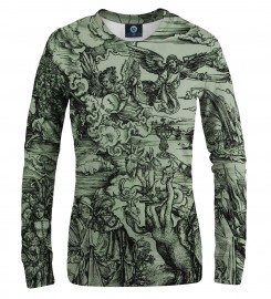 Aloha From Deer, DURER SERIES - APOCALYPSE WOMEN SWEATSHIRT Thumbnail $i