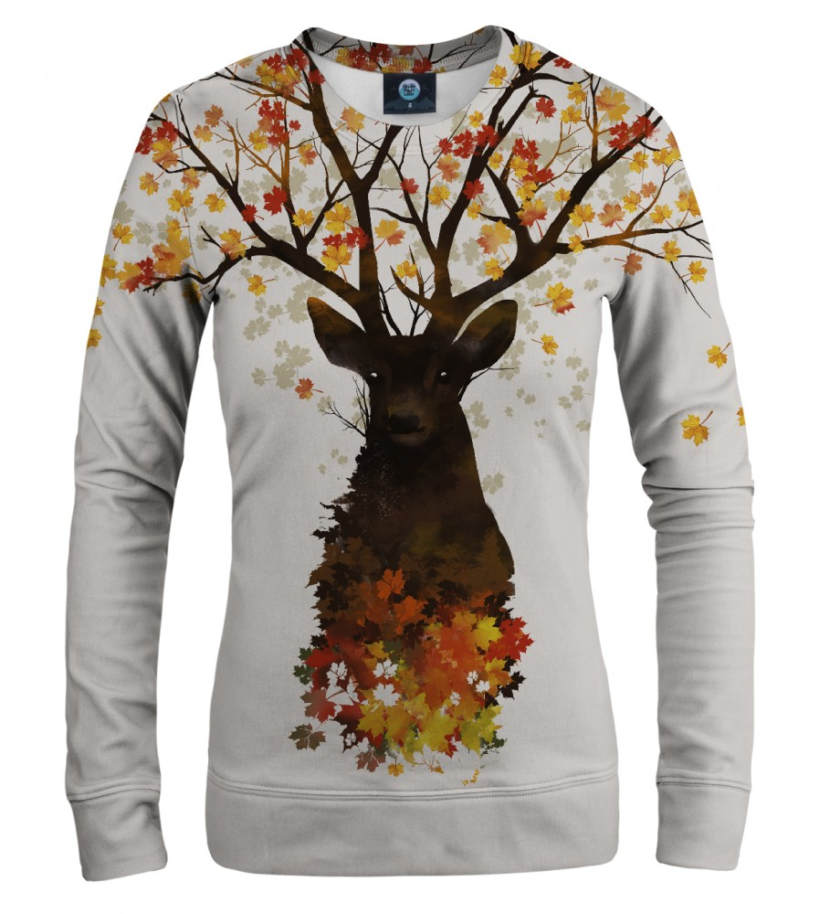 Aloha From Deer, INTO THE WOODS WOMEN SWEATSHIRT Image $i