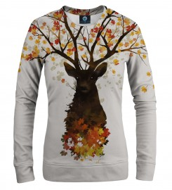 Aloha From Deer, INTO THE WOODS WOMEN SWEATSHIRT Thumbnail $i