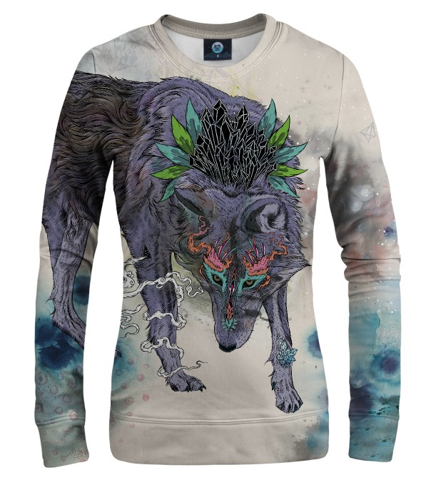 JOURNEYING SPIRIT - WOLF WOMEN SWEATSHIRT Thumbnail 1