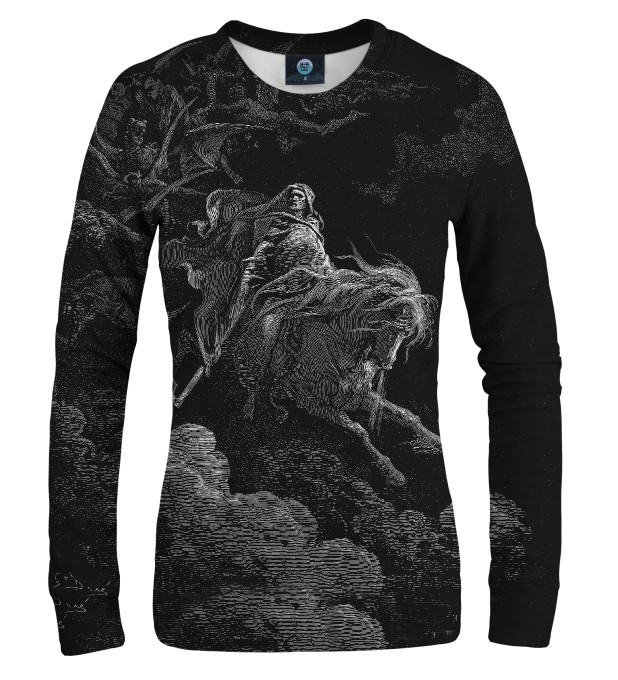 Dore series - pale horse WOMEN SWEATSHIRT Thumbnail 1