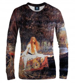 Aloha From Deer, LADY OF SHALOTT WOMEN SWEATSHIRT Thumbnail $i