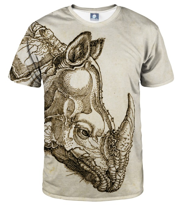 DURER SERIES - RHINOCEROS T-SHIRT Thumbnail 1