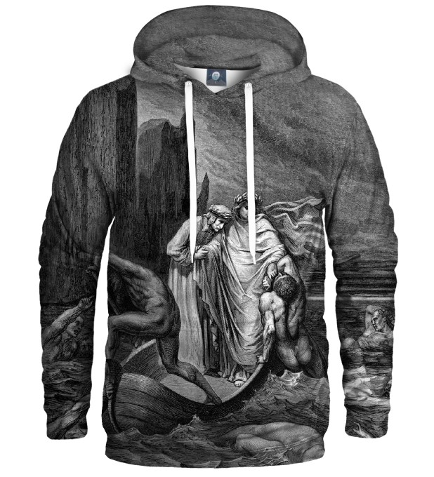 TROUBLED WATERS HOODIE Thumbnail 1