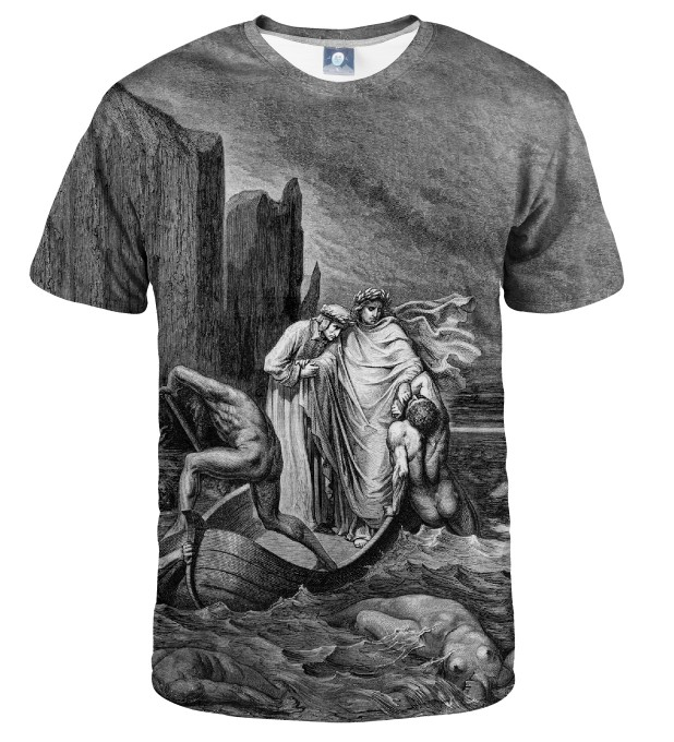 T-SHIRT TROUBLED WATERS Miniatury 1