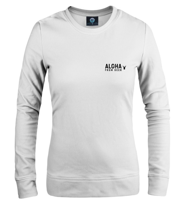 """THIS IS A SWEATER WITH LOGO"" WOMEN SWEATSHIRT Thumbnail 1"