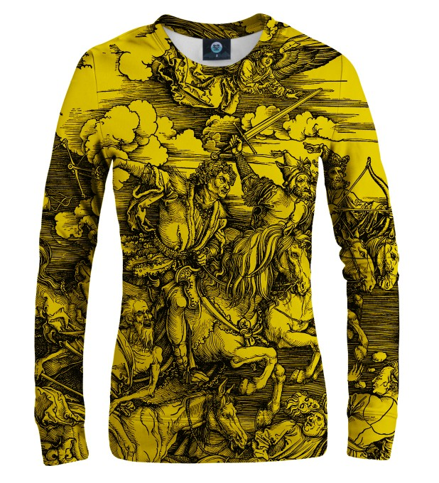 YELLOW DURER SERIES - FOUR RIDERS WOMEN SWEATSHIRT Thumbnail 1