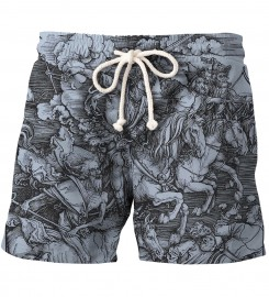 Aloha From Deer, DURER SERIES - FOUR RIDERS SHORTS Thumbnail $i