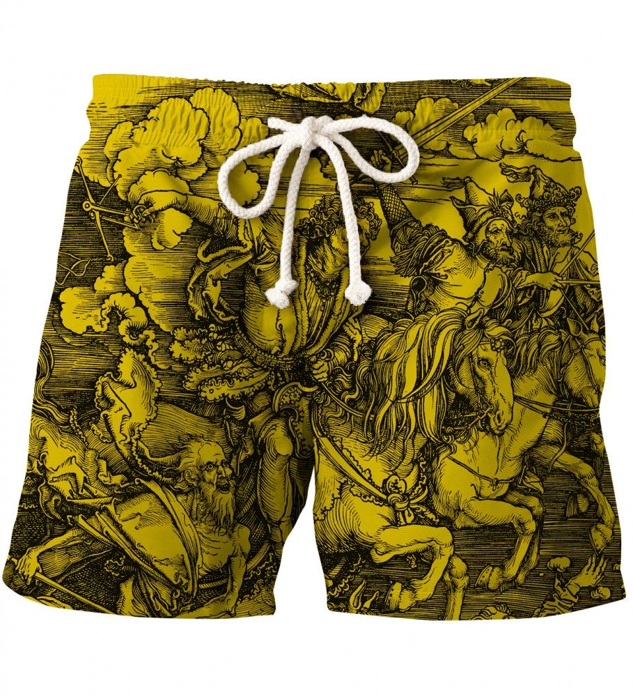 Free Comic Book Day Romania: YELLOW DURER SERIES - FOUR RIDERS SHORTS