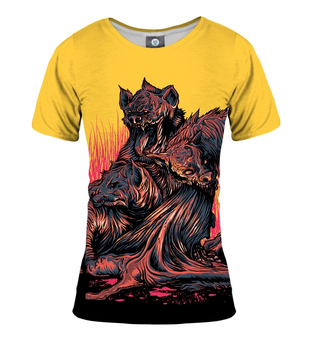 DEMON-HOUNDS WOMEN T-SHIRT Thumbnail 1