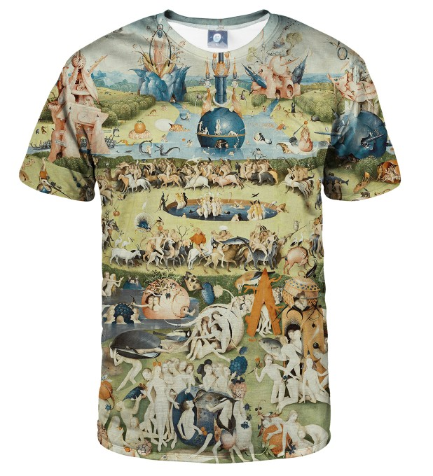 THE GARDEN OF EARTHLY DELIGHTS T-SHIRT Thumbnail 1