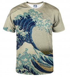 Aloha From Deer, GREAT WAVE T-SHIRT Thumbnail $i