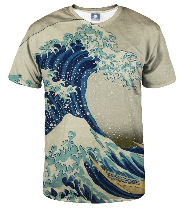 T-SHIRT GREAT WAVE Miniatury 1