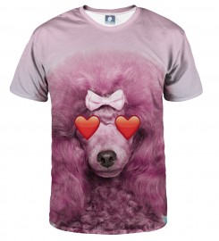 Aloha From Deer, PINK PUDDLE T-SHIRT Thumbnail $i