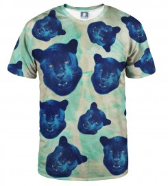 Aloha From Deer, PANTHER HEADS T-SHIRT Thumbnail $i