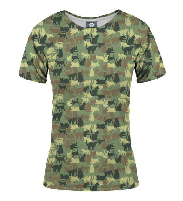 CAMO CATS WOMEN T-SHIRT Thumbnail 1