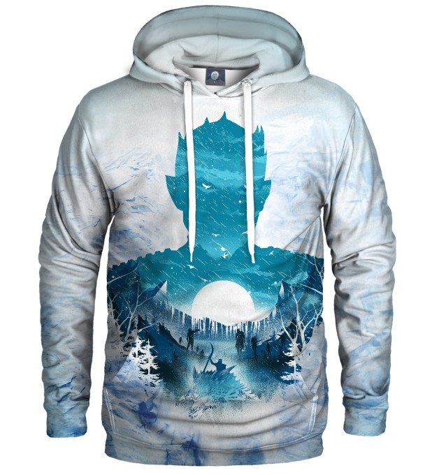 BLUZA Z KAPTUREM NIGHT KING GOT Miniatury 1
