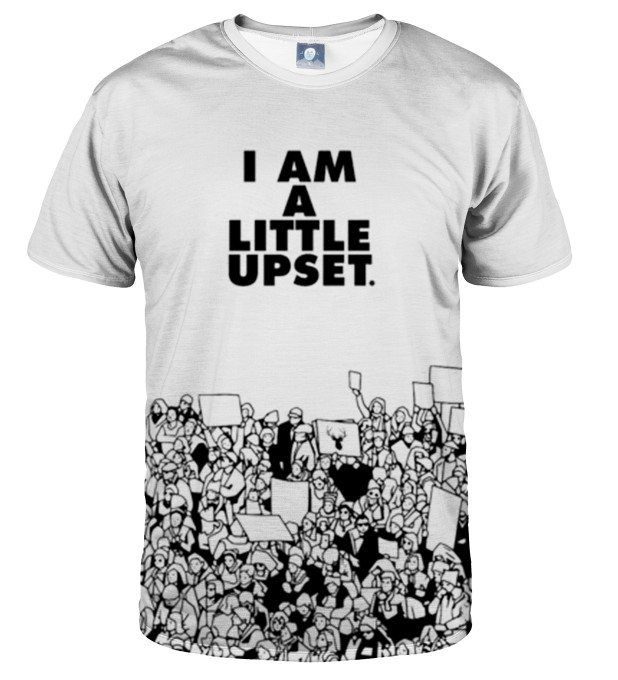 T-SHIRT LITTLE UPSET Miniatury 1