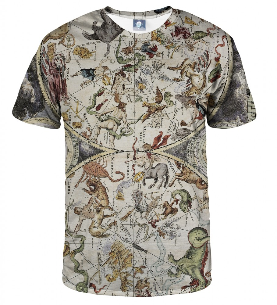 Aloha From Deer, MAP OF THE SKY T-SHIRT Image $i