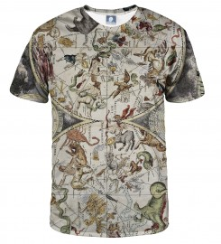 Aloha From Deer, MAP OF THE SKY T-SHIRT Thumbnail $i