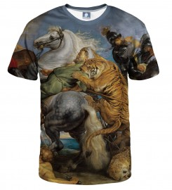 Aloha From Deer, THE TIGER HUNT T-SHIRT Thumbnail $i