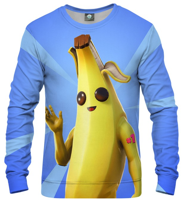 BLUZA BATTLE ROYALE - BANANA Miniatury 1