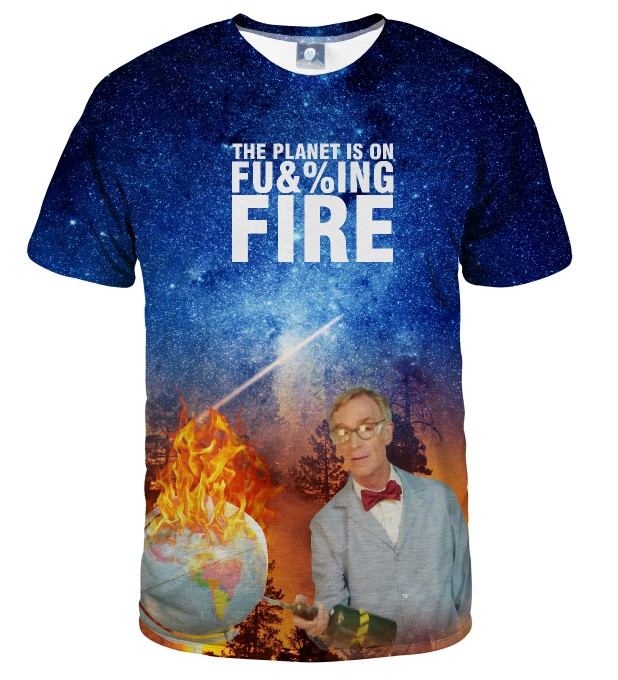 BILL NYE PLANET T-SHIRT Thumbnail 2