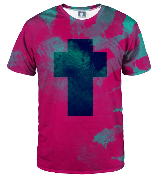 CROSS TIE DYE T-SHIRT Thumbnail 1