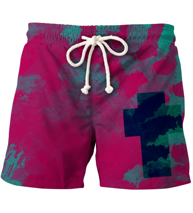 CROSS TIE DYE SHORTS Thumbnail 1