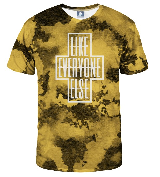 LIKE EVERYONE ELSE TIE DYE T-SHIRT Thumbnail 1