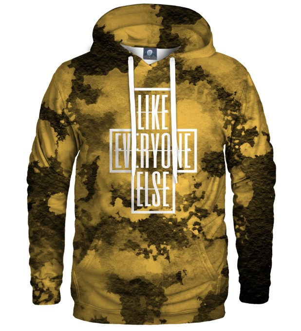LIKE EVERYONE ELSE TIE DYE HOODIE Thumbnail 1