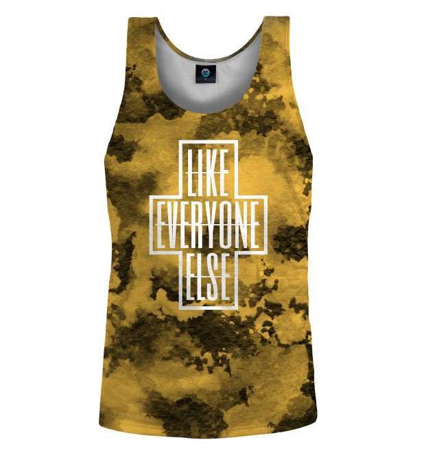 LIKE EVERYONE ELSE TIE DYE TANK TOP Thumbnail 1