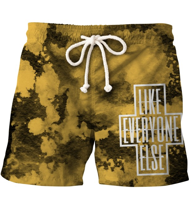 LIKE EVERYONE ELSE TIE DYE SHORTS Thumbnail 1