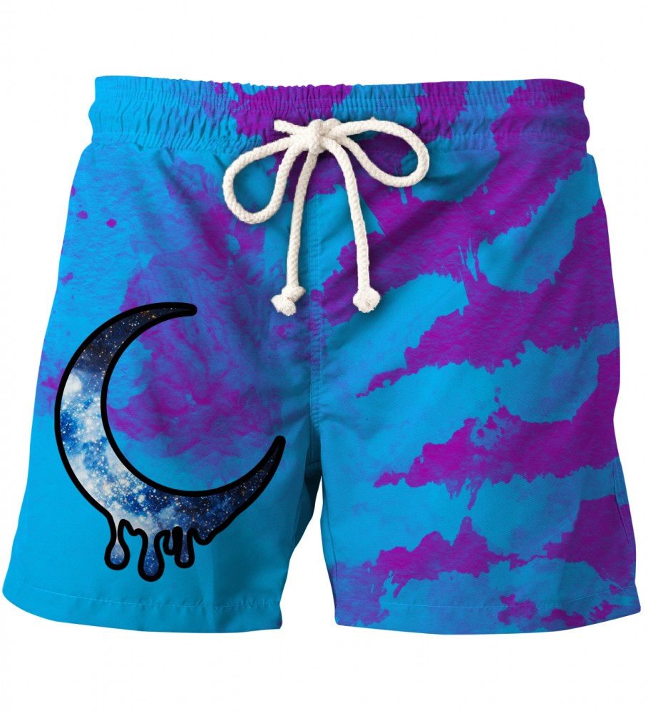 Aloha From Deer, CRESCENT TIE DYE SHORTS Image $i