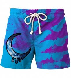 Aloha From Deer, CRESCENT TIE DYE SHORTS Thumbnail $i