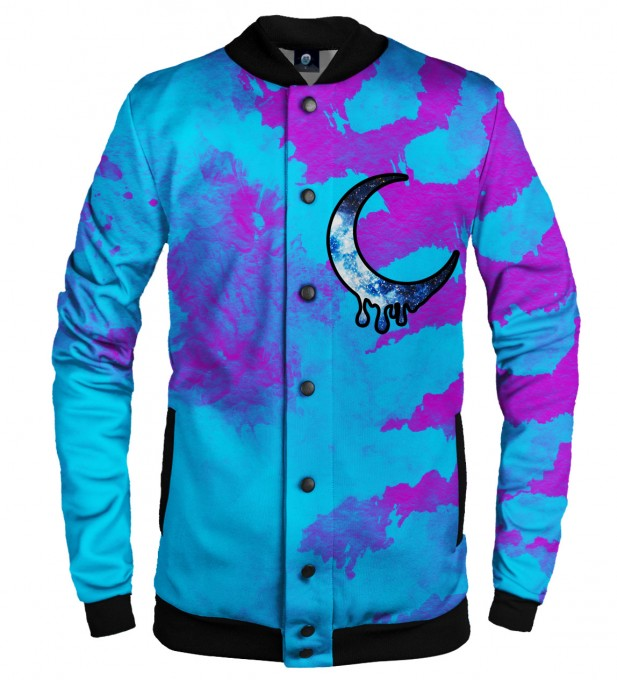 CRESCENT TIE DYE BASEBALL JACKET  Thumbnail 1
