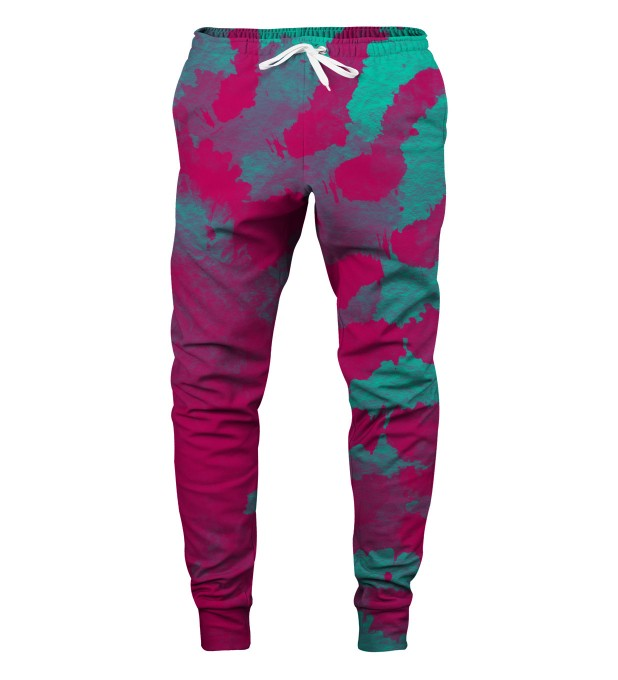 CROSS TIE DYE SWEATPANTS Thumbnail 1