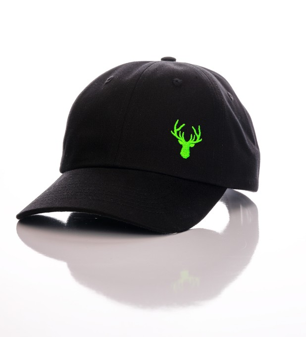 BLACK NEON DEER BASEBALL CAP   Thumbnail 1