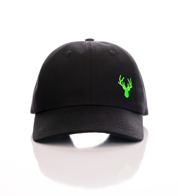 BLACK NEON DEER BASEBALL CAP   Thumbnail 2