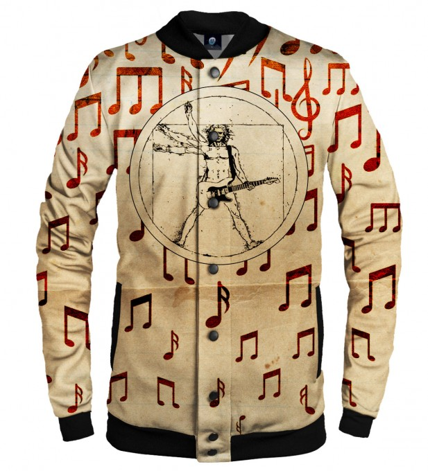 PERFECT GUITAR SOLO BASEBALL JACKET  Thumbnail 1