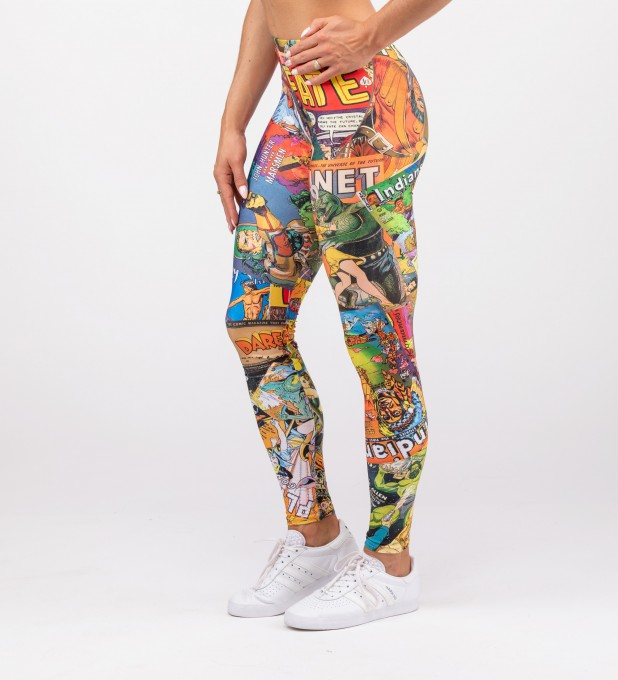 VINTAGE COMICS LEGGINGS Miniatury 2