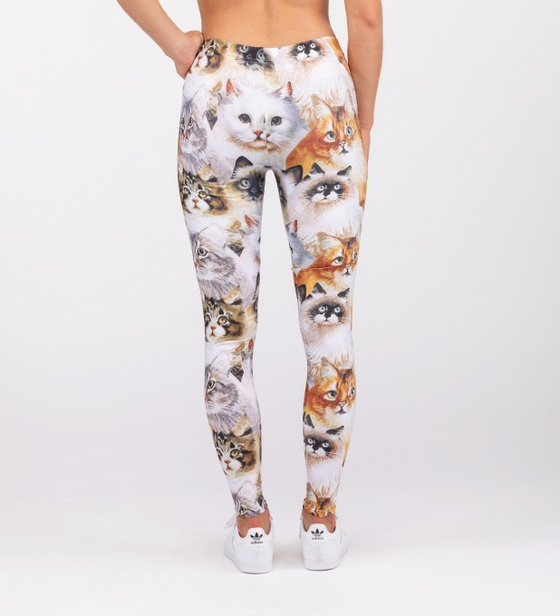 CAT HEADS LEGGINGS Miniatury 2