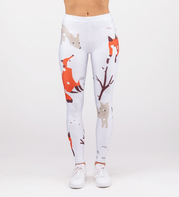 WHAT DOES THE FOX SAY? LEGGINGS Miniatury 1