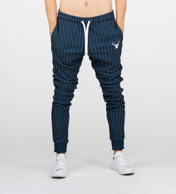 FK YOU NAVY SWEATPANTS Thumbnail 1