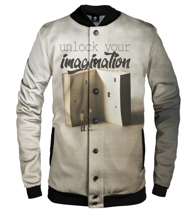 IMAGINATION BASEBALL JACKET  Thumbnail 1